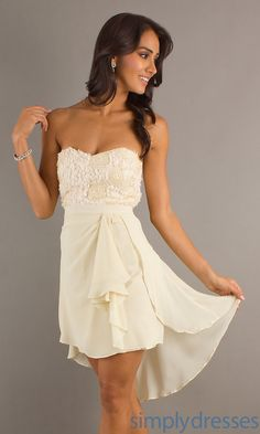 Love this for rehearsal dress!