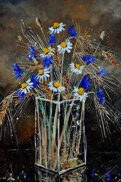 wild flowers bunch -  by Pol Ledent
