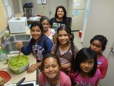Making awesome Avocado Dip in Fresno!