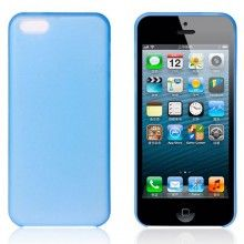 Carcasa iPhone 5C - Ultra fina 0.35mm Azul Claro  AR$ 30,94