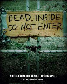 books, dead insid, zombi book, book worth, lost zombi
