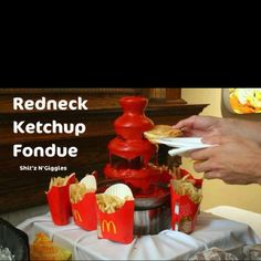 Don't get me wrong I love ketchup but seriously??