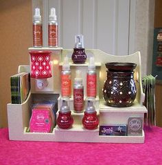 how to make scentsy display stand