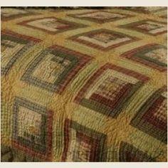 quilt, color, log cabins