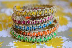 fun hemp bracelets