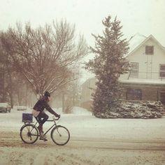 Girl's Guide To Biking In The Polar Vortex