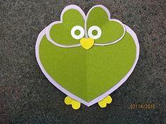 Cute heart owl.