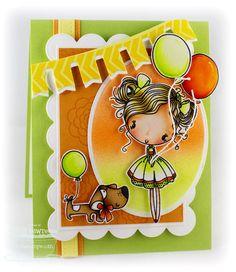 Cupcake Cutie; Sweet Roses; Border It - Mod Borders; Blueprints 1 Die-namics; Blueprints 2 Die-namics; Party Banner Die-namics; Oval STAX Set 1 Die-namics - Cindy Lawrence