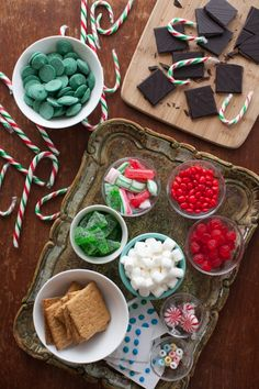 candy for gingerbread house