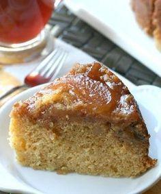 Slow Cooker Apple Crisp Coffee Cake
