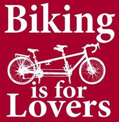 Tandem biking is harder than it looks!