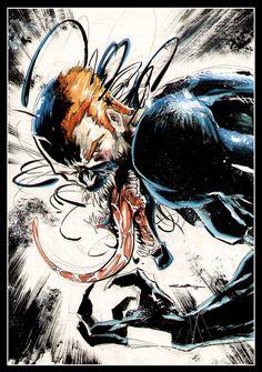 yildiray cinar, spidey, marvel, venom, comic