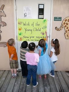 10 preschool ideas | Week of the Young Child