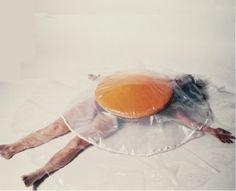 Carole Itter - Raw Egg Costume (1974)