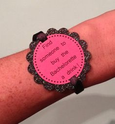 Girl's Night Out  Pink Bachelorette Party Game by MonsieurMustache, $7.50