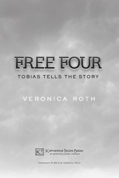 Veronica Roth retells a pivotal Divergent scene (chapter 13) from Tobias's point of view. This thirteen-page scene reveals unknown facts and fascinating details about Four's character, his past, his own initiation, and his thoughts about new Dauntless initiate Tris Prior. @Tori May