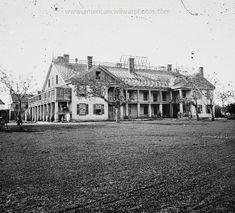 Savannah, Georgia. United States barracks. Date Created/Published: 1865.