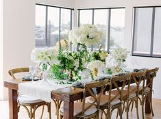 How to Create a Dreamy White Tablescape  Styled by: @Beth Helmstetter