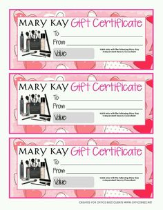 Not sure what to get, then give them a Mary Kay Gift Certificate.