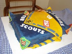 Cub Scout Cake for pack meetings or court of honors