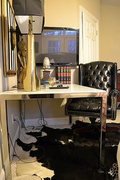 completely dig masculine home office