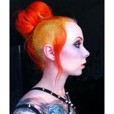 Megan massacre - hair envyyy le sigh lol.