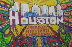 Bayou City Outdoors' Graffiti Art & Food Truck Bike Ride , March 16, 2014, Market Square Park.