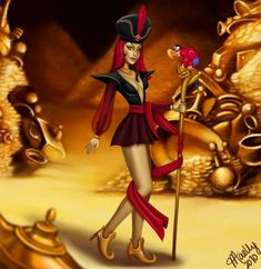 The Odd Blogg: Feminized Disney Villains