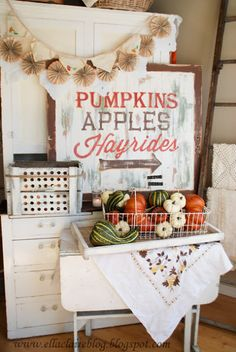 {Ella Claire}: cute fall decor