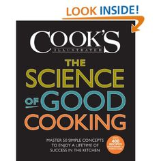 Heard a fascinating interview with the authors on @nprFreshAir. Now I need to know it all! Ha! | The Science of Good Cooking