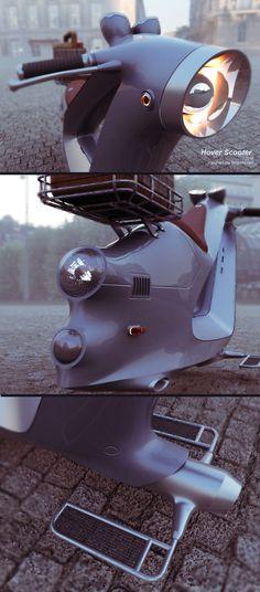 Hoover scoter