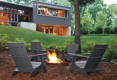 Emmet Lounge Chair - 100% Recycled by Loll Collection - Outdoor - Room & Board