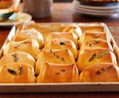 Herb Rolls Recipe | Food Recipes - Yahoo! Shine