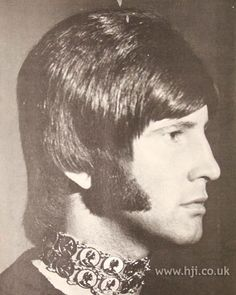1970s men's hairstyle - groovy guy!