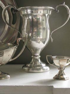 antique silver trophies