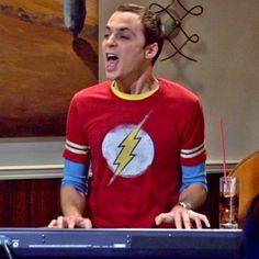 big bang, sheldon cooper, laugh, funni, bazinga, bang theori, bangs, jim parson, thing