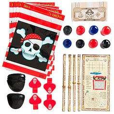 Our #PirateParty Favor Assortment features a variety of pirate favors.