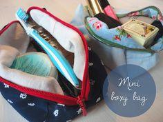 diy mini boxy bag