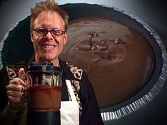 Alton's Moo-Less Chocolate Pie #NoDairy #AltonBrown