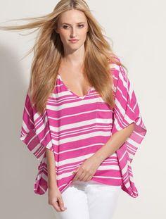 pink stripes  #KarenKane