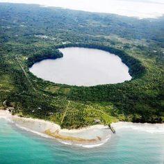 Siet Lake, Mindanao, Philippines