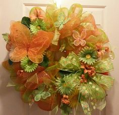 Speing mesh wreath wreath project, spring wreath, wreath mesh, mesh wreaths