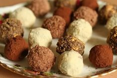 Make your own truffles!!! :))  http://www.homemade-gifts-made-easy.com/easy-truffle-recipes.html