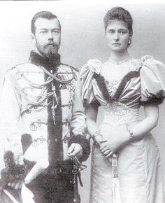 Tsar Nicholas and Alexandra