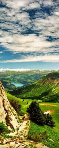 #Montreux, #Switzerland #Landscape #Mountain #Travel #Wanderlust