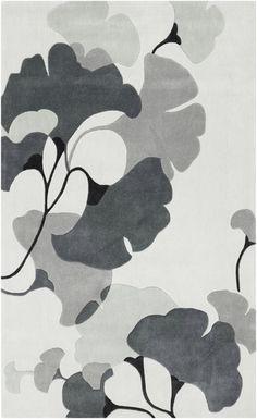 Gray Cosmopolitan rug from Surya (COS9172-58)