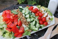 #Vegan Chop Salad  #dairyfree