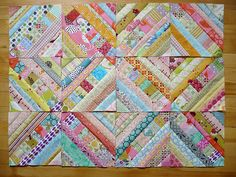 More String Blocks! by Miss-Print, via Flickr