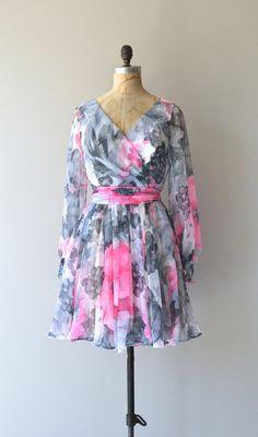 Bon Vivant dress vintage 1970s dress floral by DearGolden