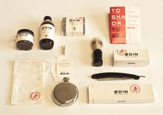 mens grooming products - lovely branding and design